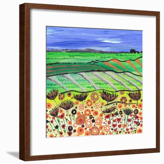 Country Ways-Caroline Duncan-Framed Giclee Print