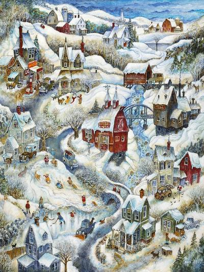 Country Winter-Bill Bell-Giclee Print