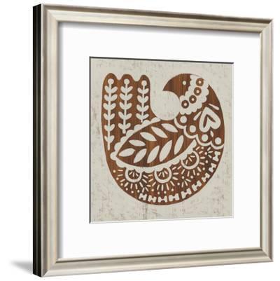 Country Woodcut II-Chariklia Zarris-Framed Art Print