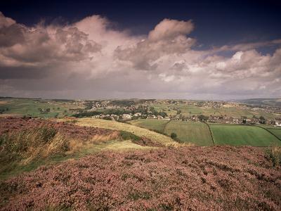 Countryside Near Haworth, Yorkshire, England, United Kingdom-R Mcleod-Photographic Print