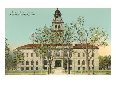 County Courthouse, Colorado Springs, Colorado--Art Print