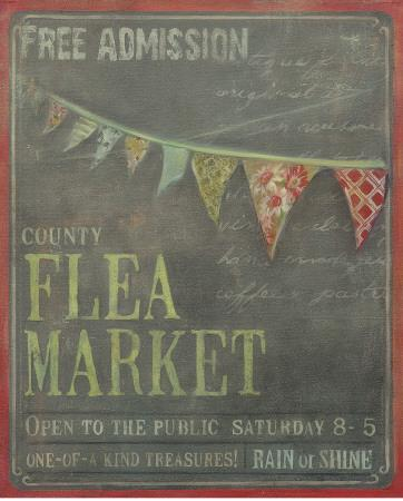 County Flea Market-Mandy Lynne-Art Print