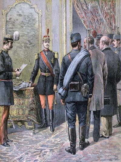 Coup D'Etat in Serbia, 1893-Henri Meyer-Giclee Print