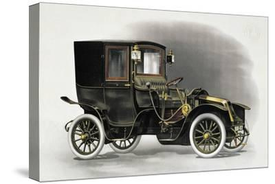 Coupe Automobile with Driver's Seat Uncovered, 1911, 20th Century