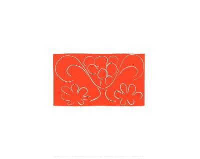 Coupe de Fruits Flanquee de Deux Fleurs, c.1943-Henri Matisse-Serigraph