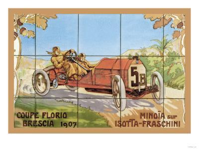 Coupe Florio Brescia--Art Print
