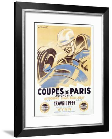 Coupes de Paris-Geo Ham-Framed Giclee Print