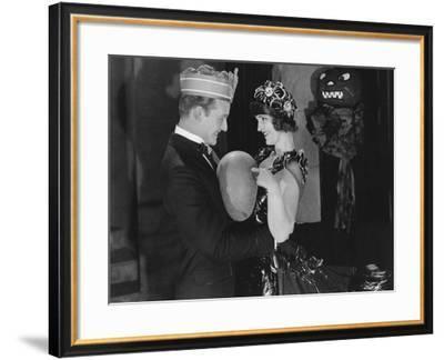 Couple Celebrating--Framed Photo