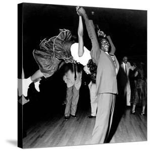 Couple Dancing at Savoy Ballroom, Harlem, 1947