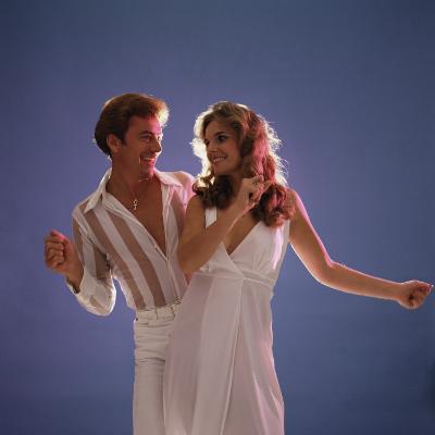Couple Disco Dancing-Dennis Hallinan-Photographic Print