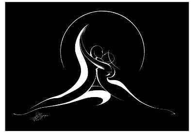 Couple Harmony II-Alijan Alijanpour-Art Print