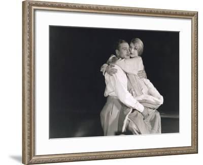 Couple Hugging--Framed Photo