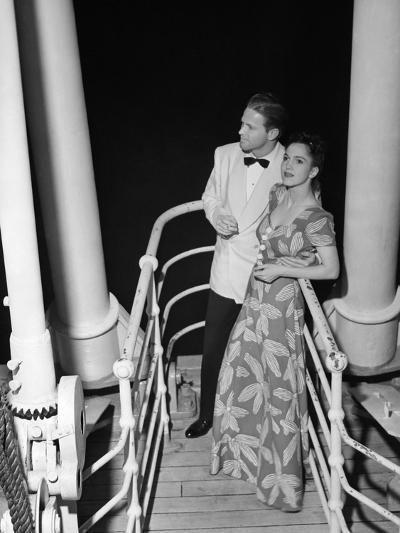 Couple in Evening Wear-George Marks-Photographic Print