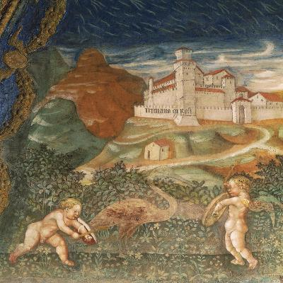 Couple of Cupids, of Love Story Between Bianca Pellegrini and Pier Maria Rossi, 1452--Giclee Print