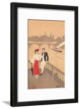 Couple on the Seine, Graphics