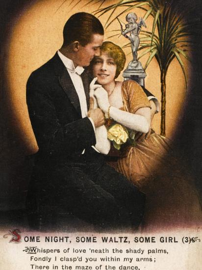 Couple Waltz 1914--Photographic Print