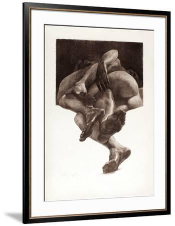Couple-Julio Zapata-Framed Premium Edition