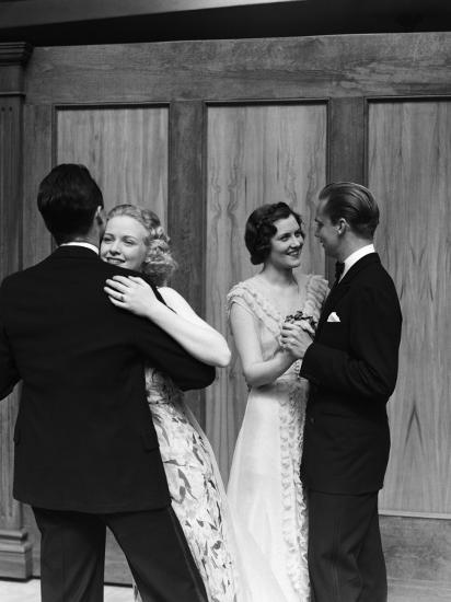 Couples Dancing-H^ Armstrong Roberts-Photographic Print
