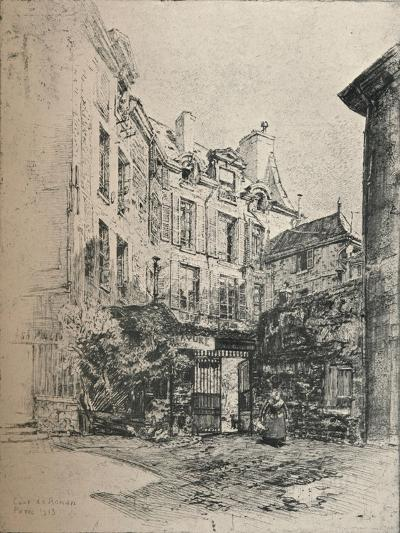 Cour De Rohan, 1915-Charles Jouas-Giclee Print