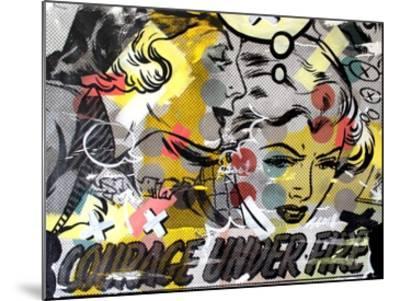 Courage Under Fire-Dan Monteavaro-Mounted Print