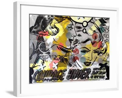 Courage Under Fire-Dan Monteavaro-Framed Giclee Print