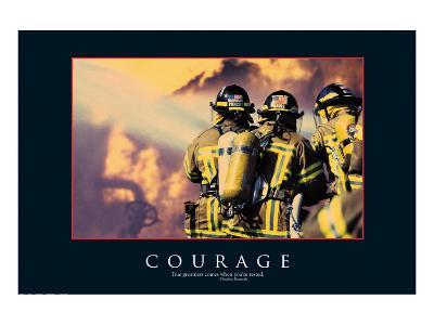 Courage--Art Print