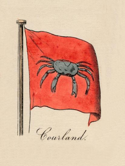 'Courland', 1838-Unknown-Giclee Print