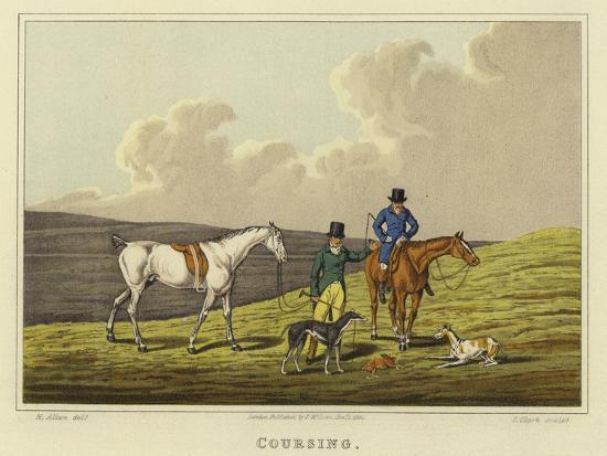 Coursing-Henry Thomas Alken-Giclee Print