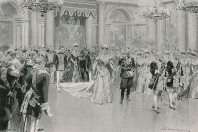 Court Ball-Frederic De Haenen-Giclee Print