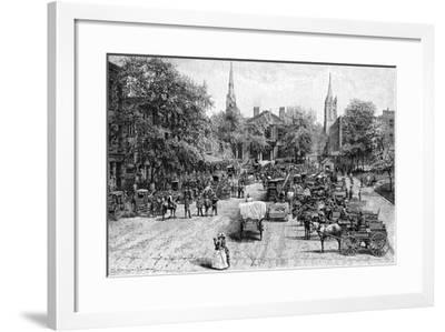 Court House Square, Lexington, Kentucky--Framed Giclee Print