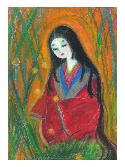 Court Lady?In Bamboo Forest-Mariko Miyake-Giclee Print
