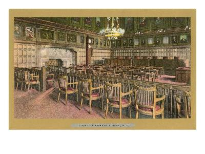Court of Appeals, Albany, New York--Art Print