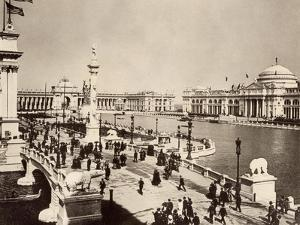 Court of Honor and Central Basin of the Columbian Exposition, Chicago, 1893