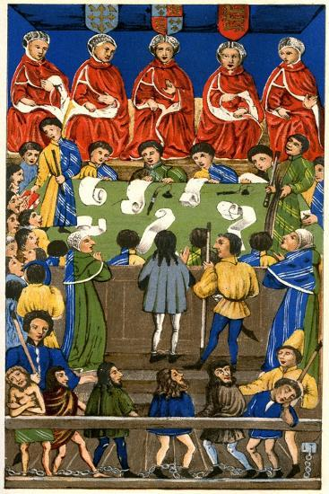 Court of King's Bench, 1893--Giclee Print