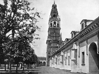 Court of Oranges and Mosque, Cordoba, Spain, 1893-John L Stoddard-Giclee Print