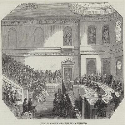 Court of Proprietors, East India Company--Giclee Print