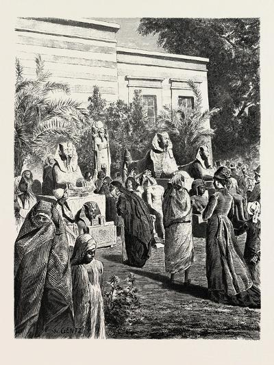 Court of the Museum of Antiquities at Boolak. Egypt, 1879--Giclee Print