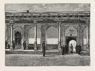 Court of the Palace of the Ex-Khan of Khokan--Giclee Print