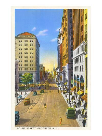 Court Street, Brooklyn, New York City--Art Print
