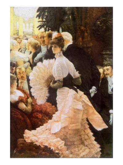 Courtesan and Senior, 1884-James Tissot-Giclee Print