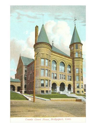 Courthouse, Bridgeport, Connecticut--Art Print