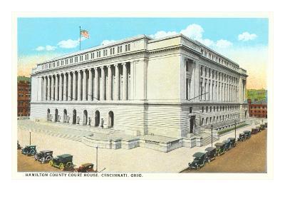 Courthouse, Cincinnati, Ohio--Art Print