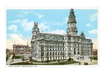 Courthouse, Indianapolis, Indiana--Art Print