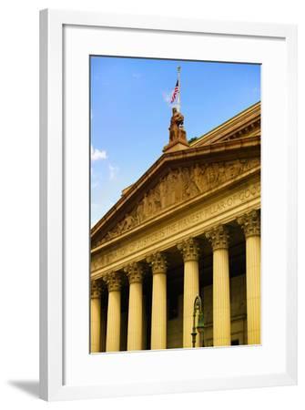 Courthouse - Manhattan - New York City - United States-Philippe Hugonnard-Framed Photographic Print