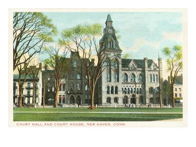 Courthouse, New Haven, Connecticut--Art Print