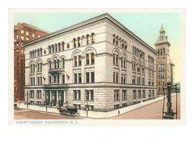 Courthouse, Rochester, New York--Art Print