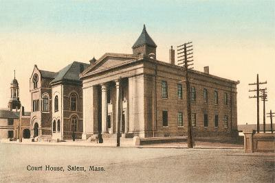 Courthouse, Salem--Art Print