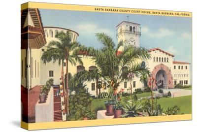 Courthouse, Santa Barbara, California