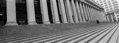 Courthouse Steps, New York City, New York State, USA--Photographic Print