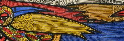 Courting Birds-Muktair Oladoja-Giclee Print